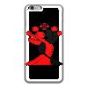 "Чехол для iPhone 6 глянцевый ""Белый кейс"" - lotos, тск лотос"