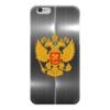 """Чехол для iPhone 6 глянцевый """"Герб России"""" - putin, россия"""