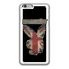 """Чехол для iPhone 6 глянцевый """"Playboy Британский флаг"""" - playboy, плейбой, зайчик, великобритания, плэбой"""