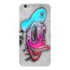 "Чехол для iPhone 6 глянцевый ""Дональд"" - дональд дак, мульт, ужастик, оригинал"