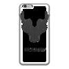 """Чехол для iPhone 6 глянцевый """"Dear Deer"""" - рисунок, дизайн, олень, минимализм, рога"""