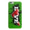 """Чехол для iPhone 6 глянцевый """"Любовь это"""" - арт, россия, стиль, путин"""