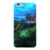 """Чехол для iPhone 6 глянцевый """"Вечер в Киото"""" - дом, деревья, облака, japan, kyoto"""