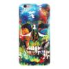 """Чехол для iPhone 6 глянцевый """"Акриловый череп"""" - череп, краски, акрил, яркий"""
