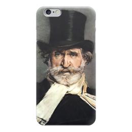 """Чехол для iPhone 6 """"Портрет Джузеппе Верди"""" - картина, больдини"""