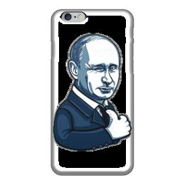 "Чехол для iPhone 6 глянцевый ""Путин - like"" - москва, россия, путин, президент, putin"
