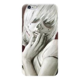 """Чехол для iPhone 6 """"Skull girl"""" - череп, девушка, смерть, санта муерте, santa muerte"""