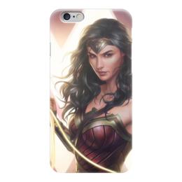 """Чехол для iPhone 6 """"Чудо-Женщина (Wonder Woman)"""" - комиксы, dc comics, чудо-женщина, justice league, лига справедливости"""