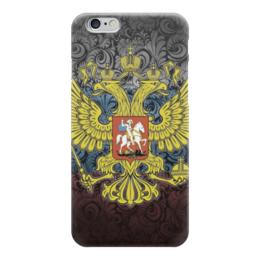 """Чехол для iPhone 6 """"герб России"""" - россия, герб, russia, русь"""