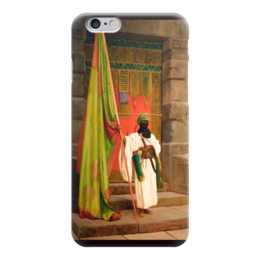 "Чехол для iPhone 6 глянцевый ""Флаг Пророка (Жан-Леон Жером)"" - картина, жером"
