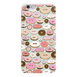 "Чехол для iPhone 6 ""Пончики"" - еда, винтаж, сладости, пончики, donuts"
