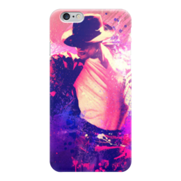 """Чехол для iPhone 6 глянцевый """"Майкл Джексон (Michael Jackson)"""" - майкл джексон, michael jackson"""