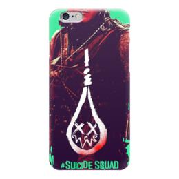 """Чехол для iPhone 6 """"Слипнот"""" - slipknot, комиксы, dc comics, отряд самоубийц, suicide squad"""