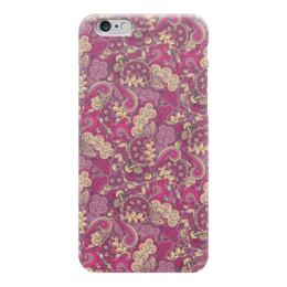 "Чехол для iPhone 6 ""Розовый дудл узор"" - арт, узор, орнамент, абстракция, дудл"