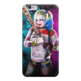 "Чехол для iPhone 6 ""Харли Квинн"" - комиксы, джокер, бэтмен, harley quinn, dc comics"