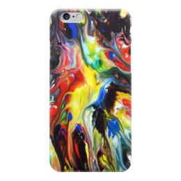 """Чехол для iPhone 6 """"Абстракция"""" - узоры, рисунок, разводы, абстракция, арт дизайн"""
