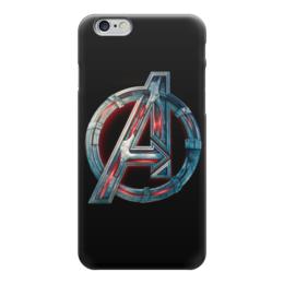 "Чехол для iPhone 6 глянцевый ""Без названия"" - мстители, avengers, рисунок, знак, символ"