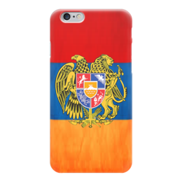 "Чехол для iPhone 6 ""Armenia"" - armenia, герб, патриотизм, флаг, арменя"