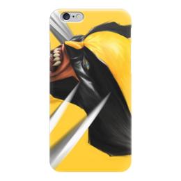 """Чехол для iPhone 6 """"marvel"""" - комиксы, люди икс, x-men, wolverine, рассомаха"""