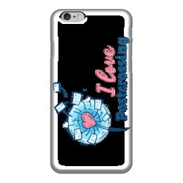 """Чехол для iPhone 6 """"I love Postcrossing"""" - i love, postcrossing, посткроссинг, почтовые открытки"""
