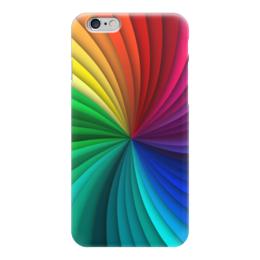"Чехол для iPhone 6 глянцевый ""Калейдоскоп"" - абстракция, калейдоскоп, рисунок, абстрактный, красочный"