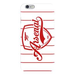 """Чехол для iPhone 6 глянцевый """"Арсенал (Arsenal)"""" - football"""
