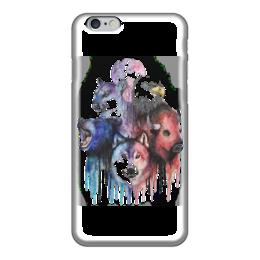 """Чехол для iPhone 6 """"Животные """" - животные, дизайн, орел, тигр, волк"""