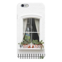 """Чехол для iPhone 6 """"Лондонское окно"""" - london, лондон, окно, window"""