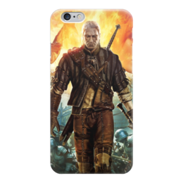 """Чехол для iPhone 6 """"Ведьмак (The Witcher)"""" - ведьмак, witcher"""