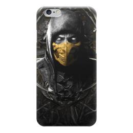 """Чехол для iPhone 6 """"Скорпион (Мортал Комбат)"""" - скорпион, scorpion"""