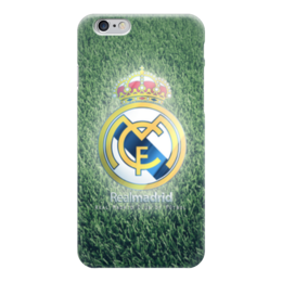 "Чехол для iPhone 6 глянцевый ""Реал Мадрид (Футбол)"" - real, реал мадрид, football"