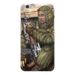 """Чехол для iPhone 6 """"S.T.A.L.K.E.R."""" - игры, сталкер, stalker, про игры, денис гесс"""