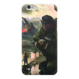 "Чехол для iPhone 6 ""S.T.A.L.K.E.R."" - игры, сталкер, stalker, денис гесс, gamer 24"
