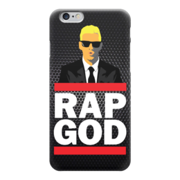 "Чехол для iPhone 6 ""Rap God (Eminem)"" - eminem, эминем, slim shady, бог рэпа, rap god"