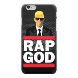 "Чехол для iPhone 6 ""Rap God (Eminem)"" - eminem, эминем, slim shady, бог рэпа, rap god"