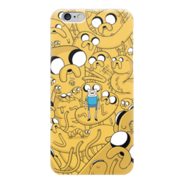 "Чехол для iPhone 6 ""Adventure time! Finn and Jake!"" - adventure time, джейк, jake, finn, финн"