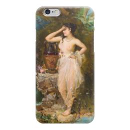 """Чехол для iPhone 6 """"Прекрасная купальщица"""" - картина, зацка"""