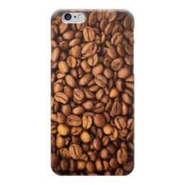 "Чехол для iPhone 6 глянцевый ""Кофе (Coffee)"" - кофе, coffee, зерна"