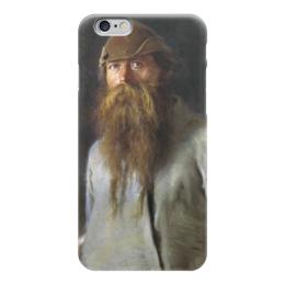 "Чехол для iPhone 6 ""Полесовщик (картина Крамского)"" - картина, крамской"