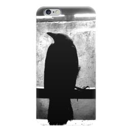 "Чехол для iPhone 6 ""Raven Brand. Момент истины."" - ворон, raven, мифология, raven brand, voron"