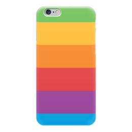 "Чехол для iPhone 6 ""Color"" - радуга, цвета, rainbow, яркий, color"