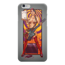"Чехол для iPhone 6 ""Rock Girl"" - девушка, гитара, girl, guitar, рок музыка"