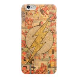 "Чехол для iPhone 6 ""Флэш (Flash)"" - comics, flash, комиксы, dc, dc comics"