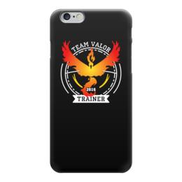 """Чехол для iPhone 6 """"Покемоны. Team Valor"""" - прикольные, покемон, покемоны, pokemon go, team valor"""