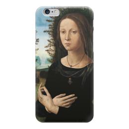 """Чехол для iPhone 6 """"Портрет молодой женщины"""" - картина, креди"""