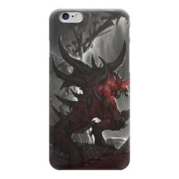 "Чехол для iPhone 6 ""Diablo"" - blizzard, диабло, пещера, близзард"