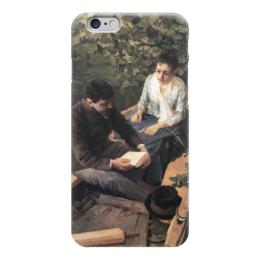 """Чехол для iPhone 6 """"В лодке (картина Коровина)"""" - картина, коровин"""