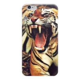 "Чехол для iPhone 6 глянцевый ""Тигра"" - животные, тигр, зверь, tiger"