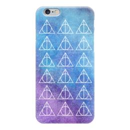 "Чехол для iPhone 6 глянцевый ""Deathly Hallows"" - harry potter, гарри поттер, хогвартс, hogwarts"