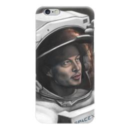 """Чехол для iPhone 6 глянцевый """"SpaceX"""" - космос, вселенная, thespaceway, spacex, маск"""